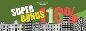 SuperBonus110 impossibile per le unità immobiliari indipendenti in edifici plurifamiliari.